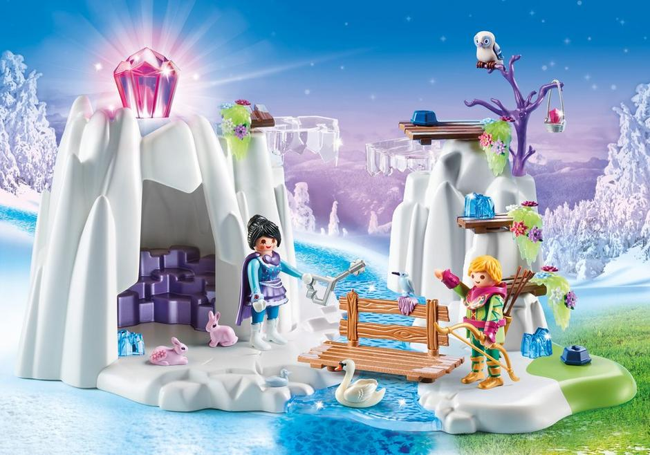 Playmobil #9470 Crystal Diamond Hideout - New Factory Sealed