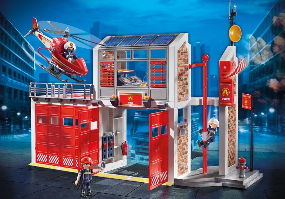Playmobil #9462 Fire Station - New Factory Sealed