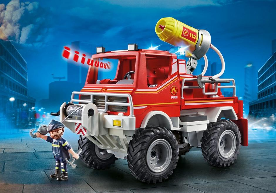 Playmobil #9466 Fire Truck - New Factory Sealed