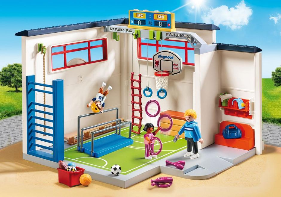 Playmobil #9454 School Gym - New Factory Sealed