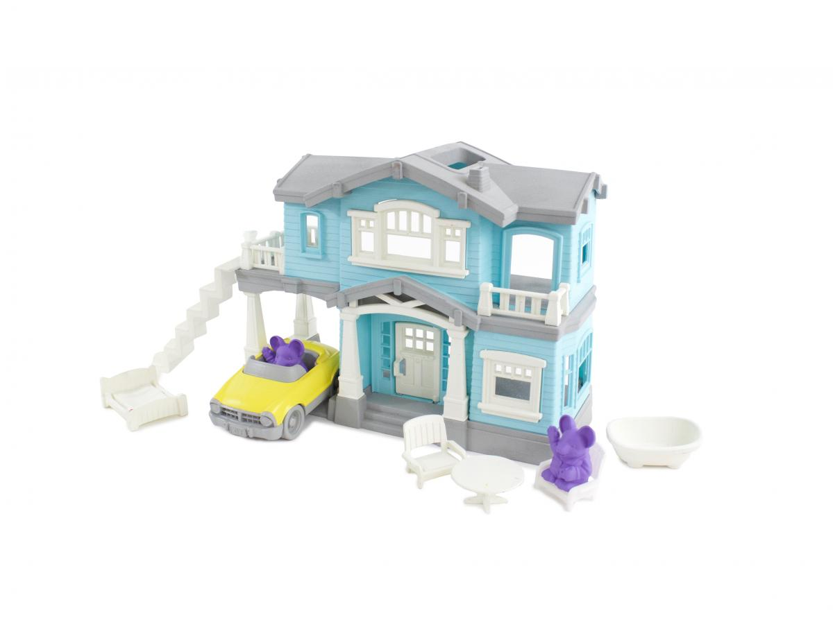 Green Toys House Playset - New Factory Sealed