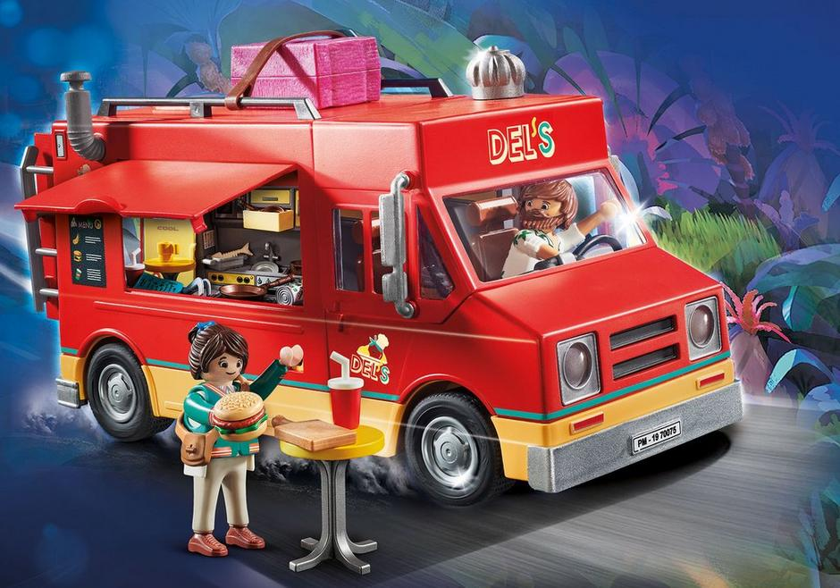 Playmobil the Movie #70075 Del's Food Truck - New Factory Sealed