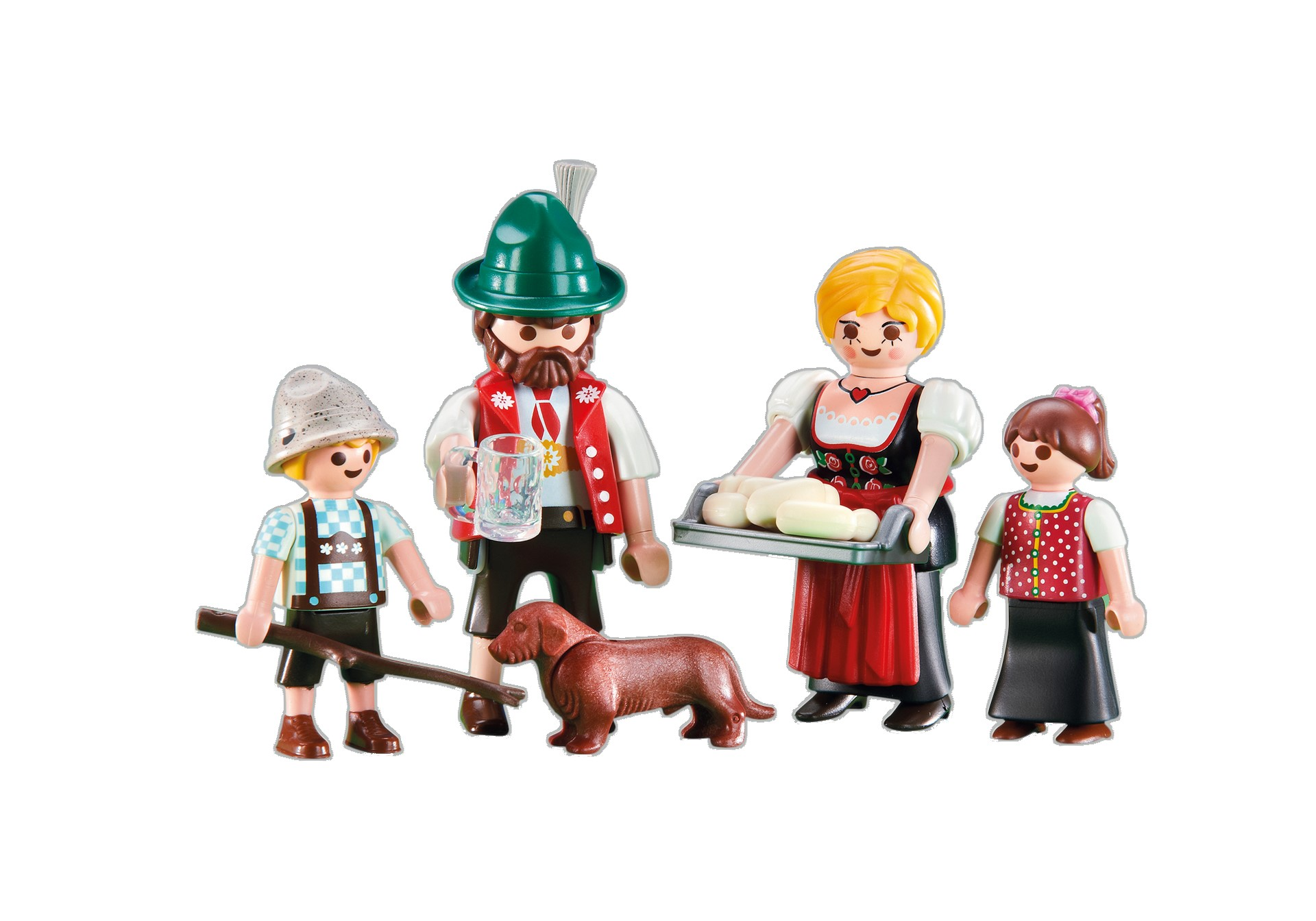 Playmobil Add On #6395 Alpine Family - New Factory Sealed