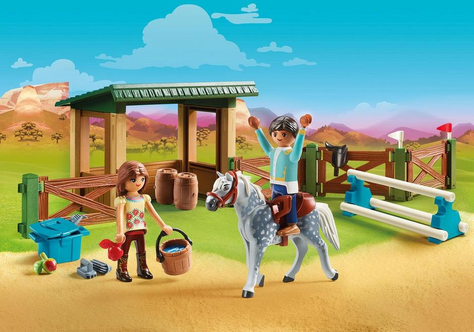 Playmobil Spirit Riding Free #70119 Riding Arena with Lucky and Javier - New Factory Sealed