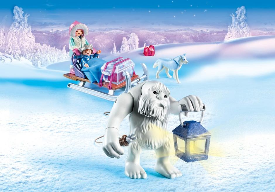 Playmobil #9473 Yeti with Sleigh - New Factory Sealed