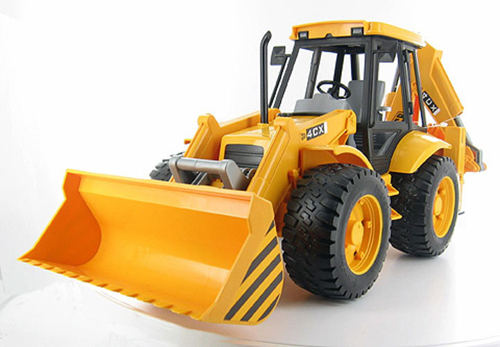 Bruder #02428 JCB Backhoe Loader! -New-Factory Sealed #2428