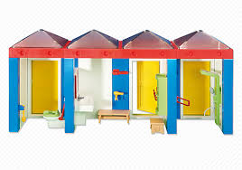Playmobil Add On #6450 Water Park Changing Rooms! New Factory Sealed!