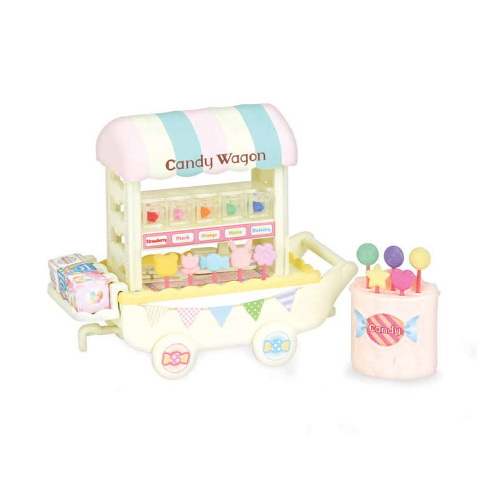 CALICO CRITTERS #CC1742 Candy Wagon - New Factory Sealed