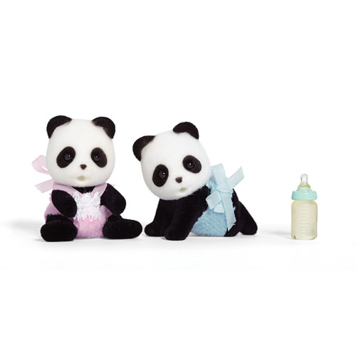 CALICO CRITTERS #CC1508 Wilder Panda Twins - New Factory Sealed