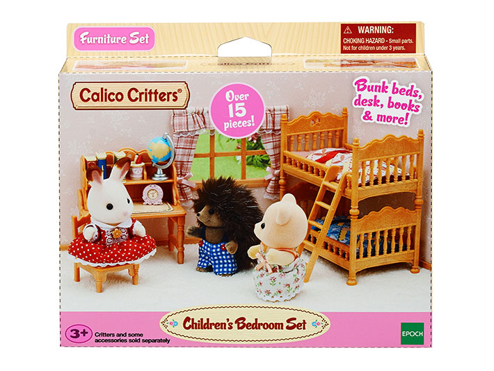 CALICO CRITTERS #CC1807 Children's Bedroom Set - New Factory Sealed