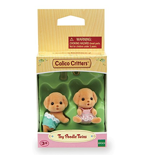 CALICO CRITTERS #CC1737 Toy Poodle Twins - New Factory Sealed