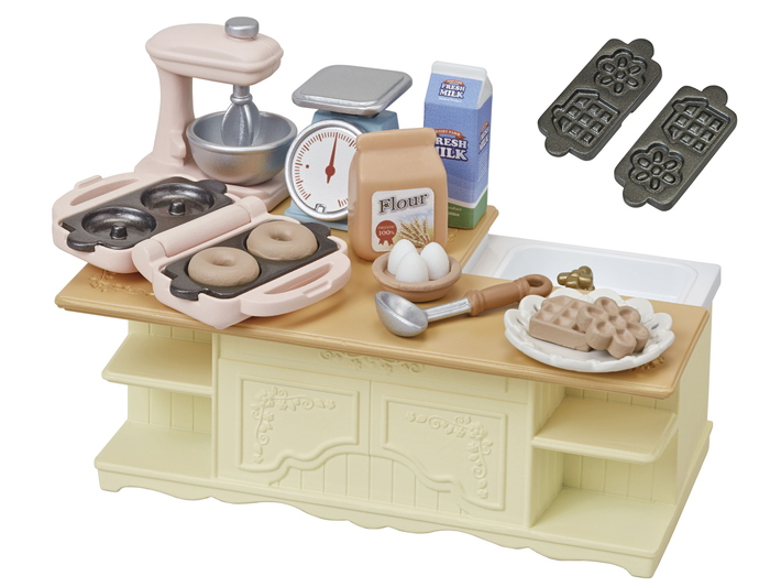 CALICO CRITTERS #CC1834 - Kitchen Island Play Set - New Factory Sealed