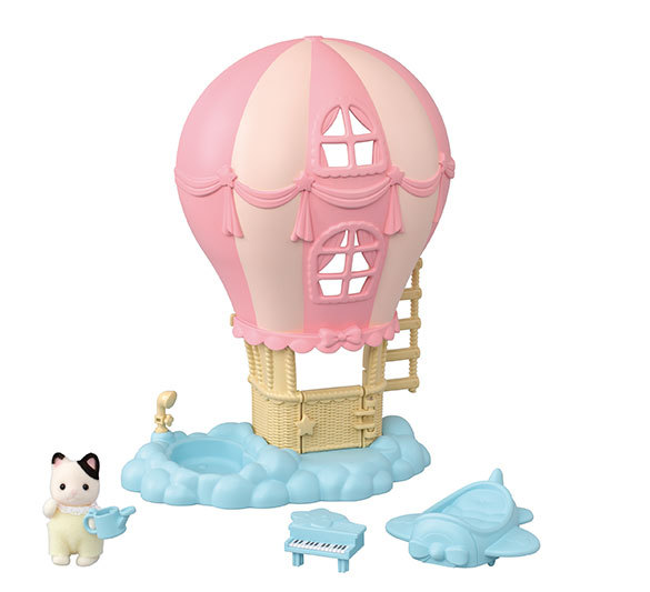 CALICO CRITTERS #1902 Baby Balloon Playhouse- New Factory Sealed!