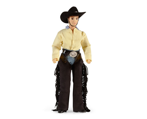 Breyer Traditional Series #536 Austin Cowboy! -New-Factory Sealed
