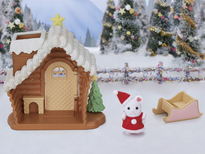 CALICO CRITTERS #CC1850 Gingerbread House - New Factory Sealed