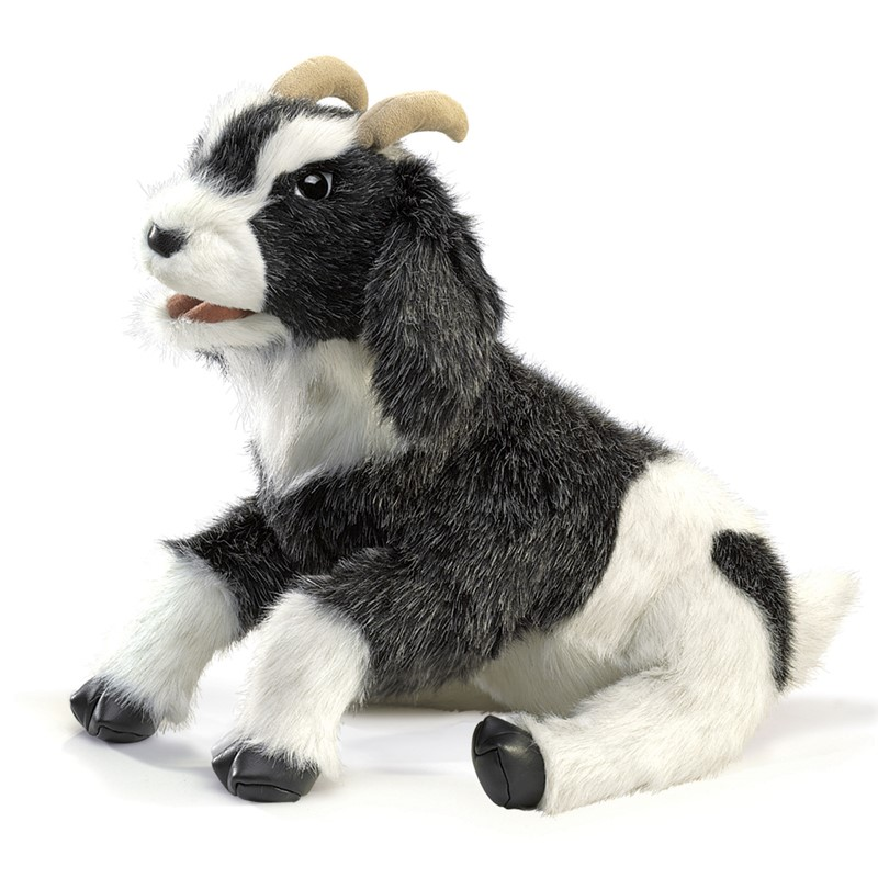 Folkmanis Hand Puppet Goat - New #2520