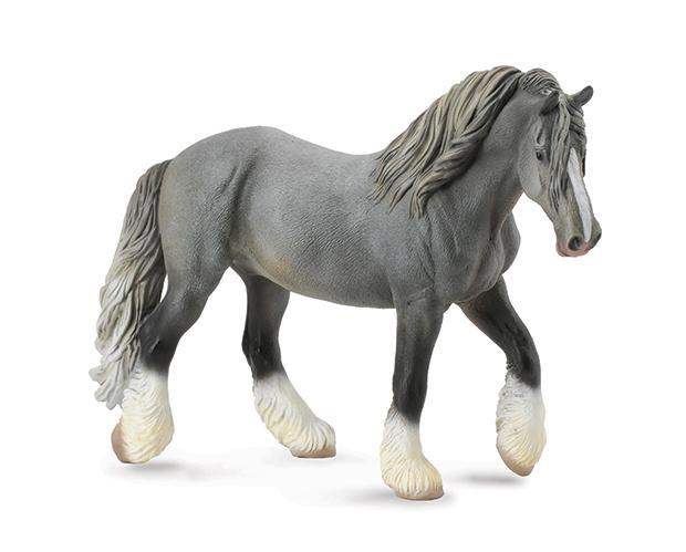 BREYER CollectA #88574 Grey Shire Mare- New!