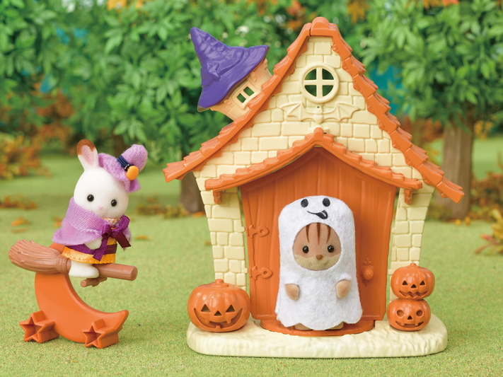 CALICO CRITTERS #CC1847 Halloween Playhouse - New Factory Sealed