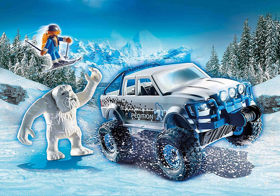 Playmobil #70532 Snow Beast Expedition- New factory Sealed!