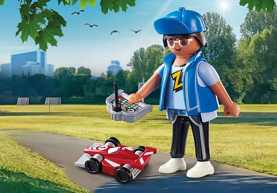 Playmobil Playmo-Friends #70561 Boy with RC Car- New Factory Sealed!
