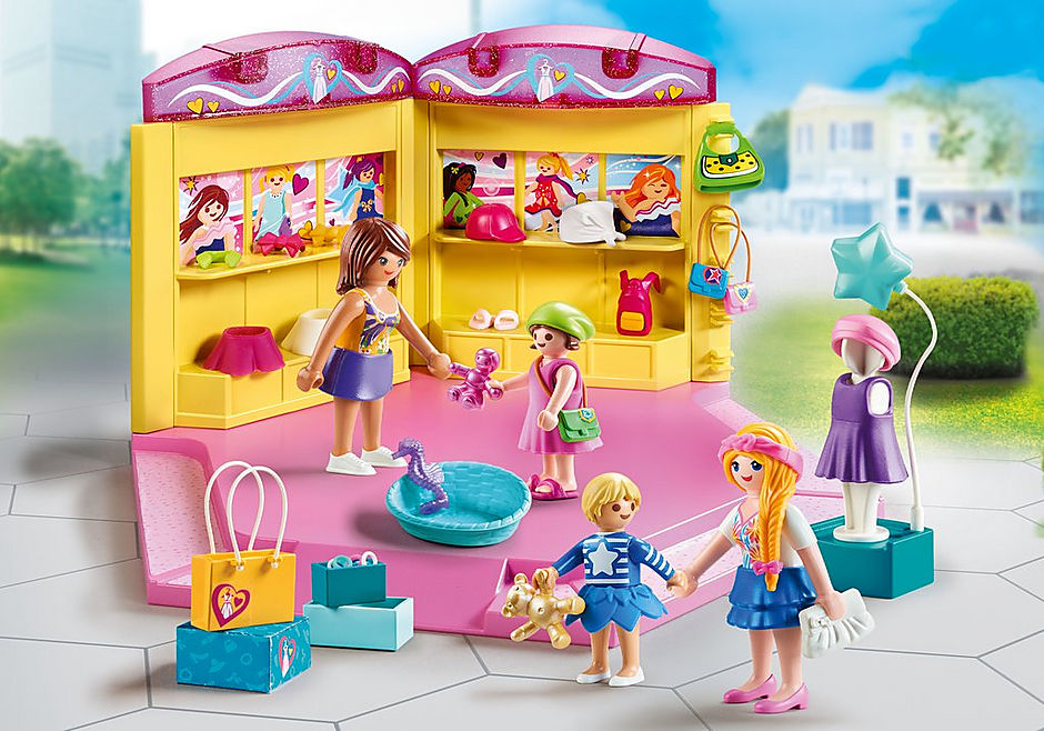 Playmobil #70592 Children's Fashion Store- New Factory Sealed!