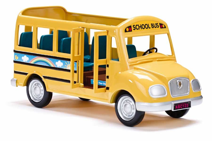 CALICO CRITTERS #CC1466 School Bus - New Factory Sealed